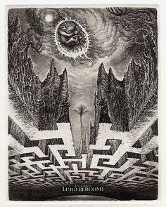 Ex libris by Ivan Miladinovic