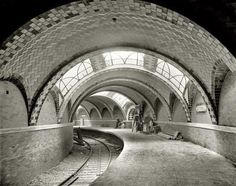 Here a reminder of the optimism with which the NYC subway began, this about 1904 / via Twitter