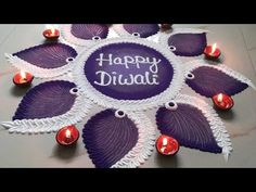 Tidy, dual colour and elegant rangoli design for Diwali 2019 Simple Rangoli Border Designs, Easy Rangoli Designs Diwali, Rangoli Designs Latest, Rangoli Designs Flower, Rangoli Patterns, Free Hand Rangoli Design, Small Rangoli Design, Rangoli Ideas, Colorful Rangoli Designs