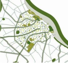 Buenos Aires Tries to Design for Biodiversity Fig. 1 Proposed green connectors and corridors. An interconnected network of tree- lined streets, boulevards, alleys and riparian remnant ve...