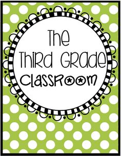 Pinterest board with all things Third Grade... From creative ideas, freebies,to awesome resources created just for the third grade classroom!