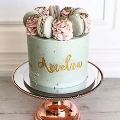 There are several means to place a finishing touch in your own cake decorating job. Employing these things allow you to liven up a plain cake. Pretty Cakes, Beautiful Cakes, Amazing Cakes, Cake Cookies, Cupcake Cakes, Cupcake Party, Pastel Cakes, Balloon Cake, Little Cakes