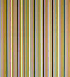 ART & ARTISTS: Bridget Riley - 1981 Light Between (screenprint)