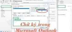 Cách tạo và thêm chữ ký trong Microsoft Outlook 2010 đến 2016 Microsoft, Offices, Bar Chart, Stationery, Messages, Stationery Shop, Paper Mill, Stationery Set, Bar Graphs