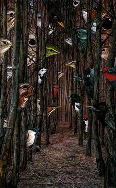 ilustración de Richard Moult
