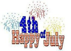 Have a happy and safe Independence Day!