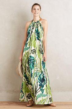 Islamorada Silk Dress - anthropologie.com