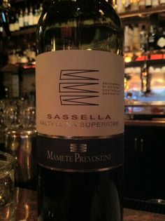 Mamete Prevostini Valtellina Superiore, Sassella, 2007; a little gem from a lesser known Piemonte Nebbiolo region; firm acid and tannin offset the surprisingly rich fruit. Gripping and edgy enough to grab the palate, for when you need something engaging. #wine