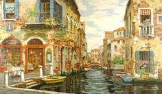 Dreams of Venice by Victor Shvaiko