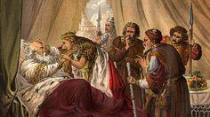 Ilustração de uma cena de 'Rei Lear', da década de 1900 (Crédito: Hulton Archive/Getty Images)