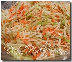 Kale Pasta, Coleslaw Dressing, Salads To Go, Carrot Greens, Slaw Recipes, Green Cabbage, Minced Onion, Shredded Carrot, Stuffed Sweet Peppers