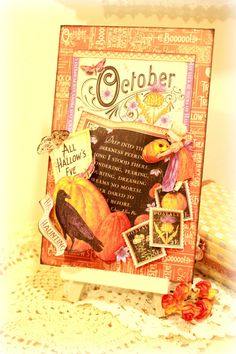 October tag  #graphic45 #g45 #timetoflourish #halloween
