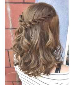Peinados cortos casuales braid hairstyles african american Beauty - New Site New Short Hairstyles, African Braids Hairstyles, Trending Hairstyles, Dance Hairstyles, Graduation Hairstyles Medium, Hairstyles For Short Hair Easy, Simple Hairstyles For Medium Hair, Braids For Thin Hair, Easy Homecoming Hairstyles