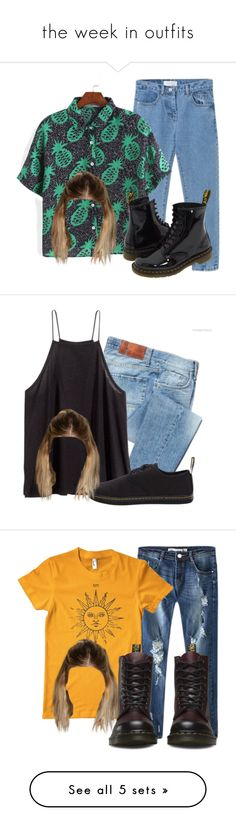 """the week in outfits"" by mindlessforeva on Polyvore"