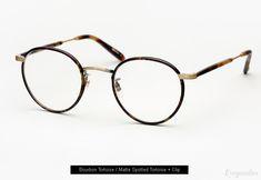 Garrett Leight Wilson Eyeglasses with Clip-On Lenses - Bourbon Tortoise