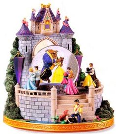 Disney Snowglobes Collectors Guide: Princess Royal Ball Snowglobe