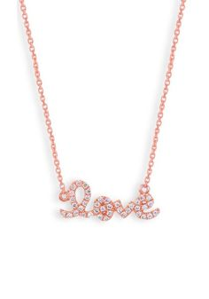 .13ctw Diamond Love Necklace at osterjewelers.com