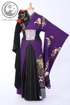 天樂 鈴華ゆう子 衣装まえ Japanese Outfits, Japanese Fashion, Hanfu, Oriental Fashion, Asian Fashion, Kimono Fashion, Lolita Fashion, Modern Kimono, Cool Outfits
