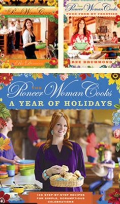 The Pioneer Woman Cookbooks