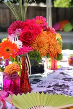 Spring Bridal Shower Design Table