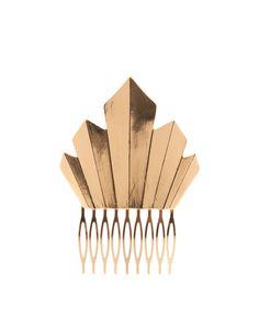 ASOS Art Deco hair comb