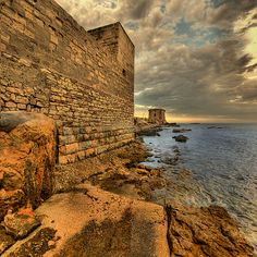 Trapani - the old walls