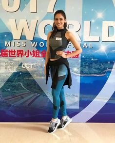 Miss World 2017 Manushi Chillar Pics. Indian model and beauty pageant holder Manushi Chhillar was crowned Miss World 2017 on November World Winner, Miss India, Perfect Figure, Bicycle Girl, Miss World, Fashion Tv, Celebrity Dresses, Celebrity Style, Hottest Pic
