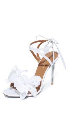 5731ad1b4bbf Aquazzura Flora Sandals
