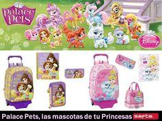 Todo para el #cole en #papeleriamiguelturra de las mascotas de palacio #palacepets #princesas #niños #disney