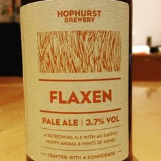 Light session pale ale. - Drinking a Flaxen by Hophurst Brewery