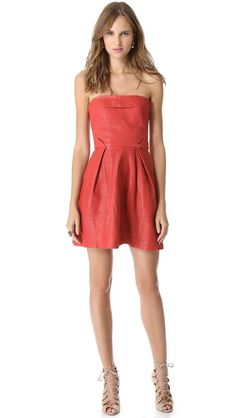 3cb9e665e14c 57 bästa bilderna på Red Leather Dresses i 2017 | Leather dresses ...