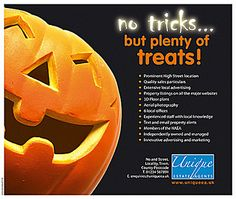Real Estate Halloween Postcards by REDEZIGN, via Flickr