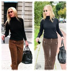 The Look For Less: Carolyn Bessette (recreated from thrift store items)