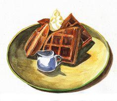 I love waffles by kana_hata, via Flickr