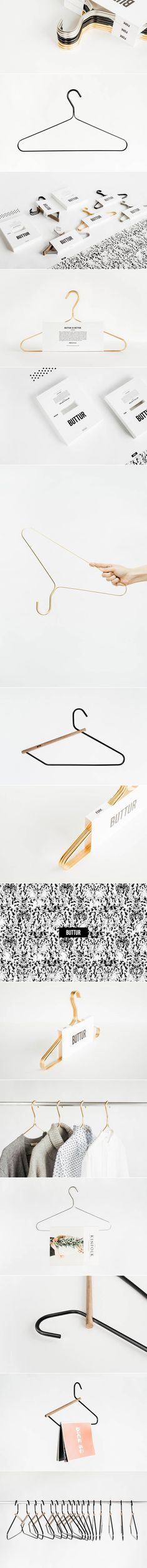 Buttur. No ordinary hangers. (More design inspiration at www.aldenchong.com)