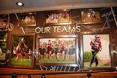 13. Even though they made great strides to be a classy looking establishment (from changing the furniture, layout, menu, uniforms, decorations, etc) they still put up pictures from local high school teams and celebrate their community.  -Applebee's Interior Redesign Sports A Tewksbury Flavor - Business - Tewksbury, MA Patch
