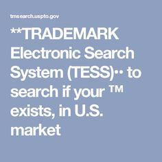 Uspto electronic trademark search system