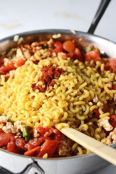 One Pot Chili Macaro