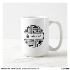 Radio One Show Titles Coffee Mug
