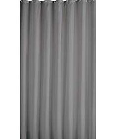 ColourMatch Shower Curtain - Smoke Grey.