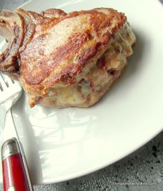 like a sandwich..with meat as the bread (ie my kind of sandwich)
