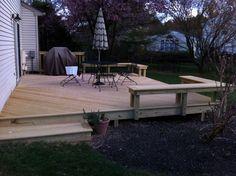 MD- Wood deck