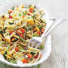 Grilled Vegetable Primavera - 16 Easy Pasta Recipes - Coastal Living Mobile