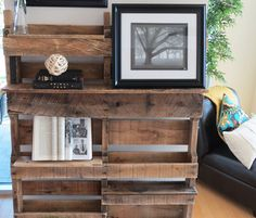 Pallet Cabinet Ideas | pallet coffee table and keeping with the pallet theme this pallet ...