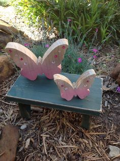 A personal favorite from my Etsy shop https://www.etsy.com/listing/273093234/wooden-butterflies