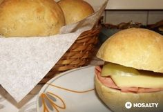 Bagel, Hamburger, Food And Drink, Cheese, Ethnic Recipes, Hamburgers, Burgers