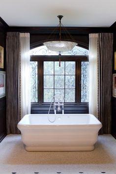 Sculptural tub for two! Charmean Neithart Interiors, LLC. - traditional - bathroom - los angeles - Charmean Neithart Interiors, LLC.