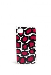 Diane von Furstenberg leopard print i-phone 4 case