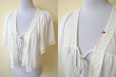 SALE! ivory white kimono (free size) by VintageHomage on Etsy