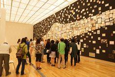 10조 모임. 국립현대미술관에서 김을 작가의 갤럭시를 감상하고 있습니다.  #시민발굴단 #공공미술 #공공미술시민발굴단 #국립현대미술관 #김을